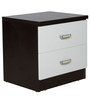 Bedside Table in White & Wenge Colour by Penache Furnishings