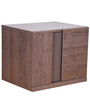 Beleem Bedside Table in Copper Ash Finish by Gami