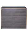 Belem Chest of Three Drawers in Copper Ash Finish by Gami