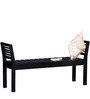 Woodinville Bench in Espresso Walnut Finish by Woodsworth