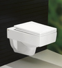 Bell White Ceramic Wall Mounted Water Closet (Model: 9001)