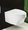 Bell White Ceramic Wall Mounted Water Closet (Model: 9003)