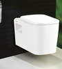 Bell White Ceramic Wall Mounted Water Closet (Model: 9008)