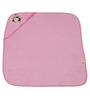 Belle Maison Pink 100% Cotton Hooded Baby Bath Towel
