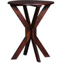 Burgdorf End Table in Honey Oak Finish by Woodsworth