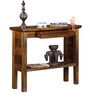 Tacoma Console Tables in Provincial Teak Finish by Woodsworth