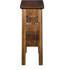 Tacoma Solid Wood Console Tables in Provincial Teak Finish by Woodsworth