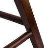 Ben Stool in Warm Rich Finish by Inliving