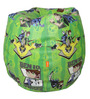 Ben 10 Digital Printed Filled Bean Bag in Multicolour by Orka