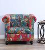 Bengalla One Seater Sofa in Multi-Color Finish by Bohemiana