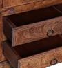 Bernwicke Book Case in Provincial Teak Finish by Amberville