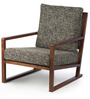 Benton Arm Chair in Charcoal Grey Colour by HomeHQ
