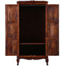 Marlesford Wardrobe in Honey Oak Finish by Amberville