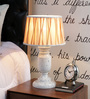 Bergamo Table Lamp in Brown by Amberville