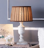 Baylyn Table Lamp in Brown by Amberville