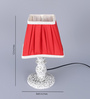 Bourgeois Table Lamp in Red by Amberville