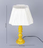 Brockway Table Lamp in White by Amberville