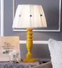 Bernake Table Lamp in White by Amberville