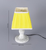 Bingham Table Lamp in Yellow by Amberville