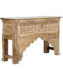 Chantay Console Table in Distress Finish by Bohemiana