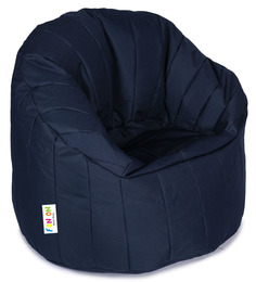 Big Boss Filled Chair In Blue Colour By Orka