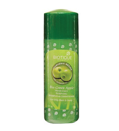 Biotique Green Apple Fresh Daily Purifying Cleanser & Conditioner 120Ml