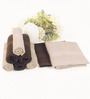 BIANCA Antique & Chocolate 100% Terry Cotton Face Towel - Set of 8