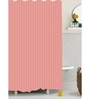 BIANCA Pink Polyester Shower Curtain