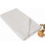 BIANCA Dobby White Cotton Bath Towel