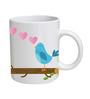 Bird Designed Coffee Mug by Orka