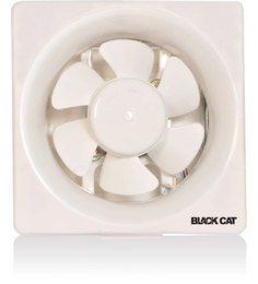 Black Cat VF-008 6 Blade Exhaust Fan with High Speed Noiseless Motor