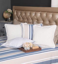 Blue Alcove Multicolour Cotton 16 X 16 Inch Graphic Cushion Covers - Set Of 4 - 1566988