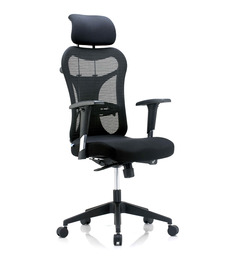 Bluebell Kruz Black High Back Office Chair