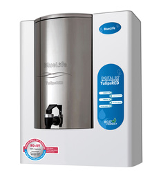 BlueLife TulipsRED 6L Digital RO+UV Water Purifier with Detachable Stainless Steel Storage Tank