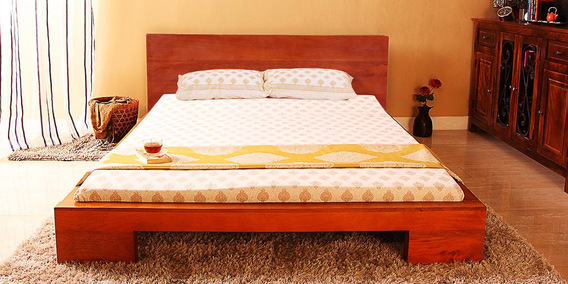 Upto 60% Off On Solid Wood Beds