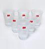 Blinkmax Celebration Glass 285 ML Juice Glasses - Set of 6