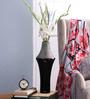 Bloomfields Black Glass LSA Emilio Long Vase