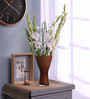 Bloomfields Brown Glass LSA Shaded Vase