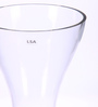 Bloomfields Clear Glass LSA Elina Vase