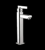 Blues Iris Silver Brass Single Lever Basin Mixer