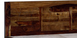 Boyd King Bed in Provincial Teak Finish by Woodsworth