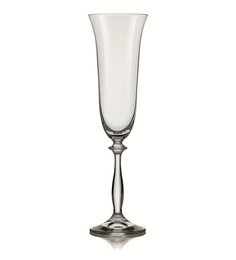 Bohemia Crystal Angela 190 ML Champagne Flute - Set of 6