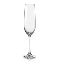 Bohemia Crystal Glass Champagne Flute Glasses