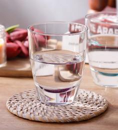 Borgonovo Alpi Dof Glass 355 ML Glass - Set Of 6