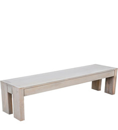 Bouram Bench Natural Finish by InLiving