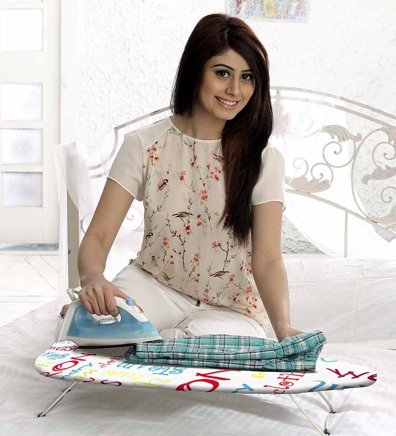 how to make a table top ironing pad