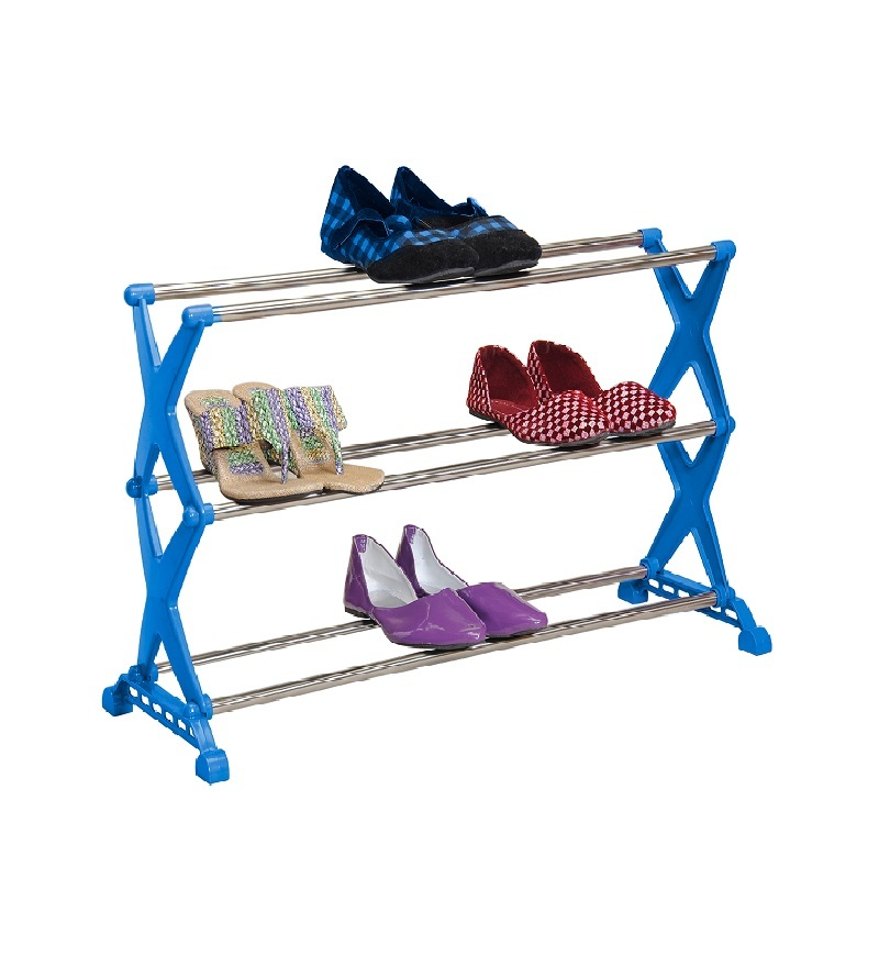 Bonita Stylo 12 Pair Shoe Stand from Pepperfry at Flat 62% Off-Rs375