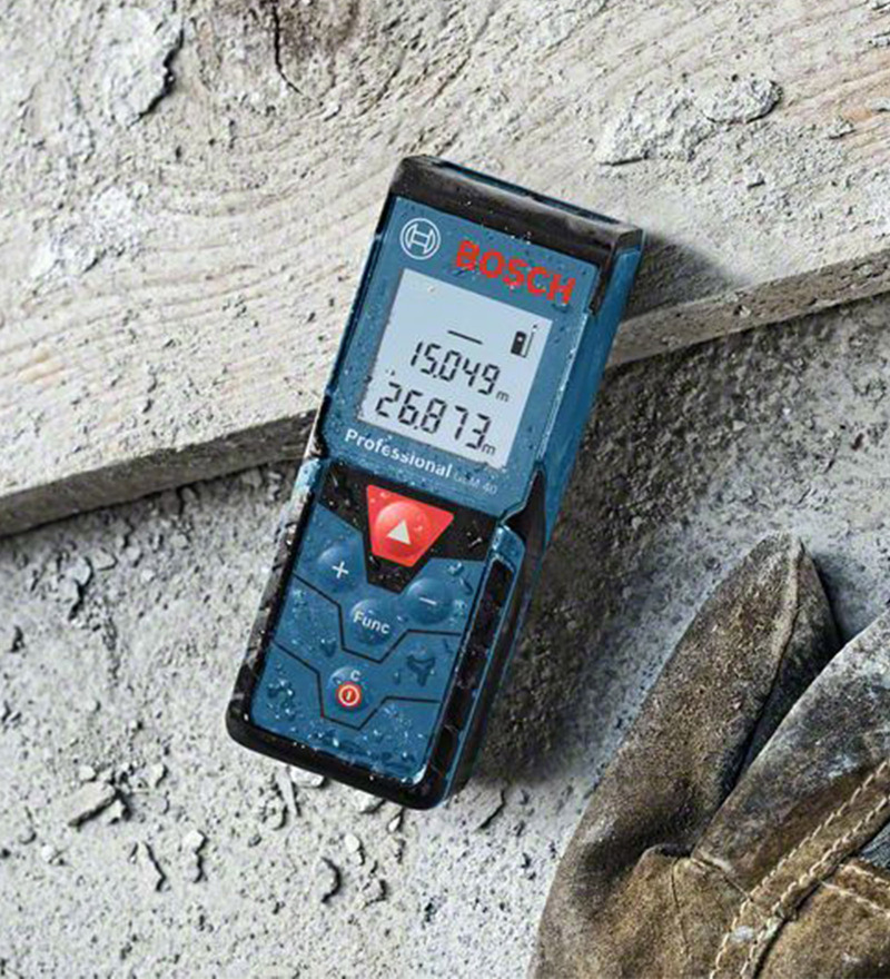 Bosch GLM 40 Steel And Plastic Laser Distance Measurer  available at Pepperfry for Rs.7500