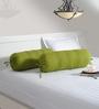 Swayam Mehendi Green 30 x 30 x 24 Inch Bolster Cover - Set of 2