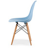 Boca Raton Accent Chair in Robin Blue Colour by HomeHQ